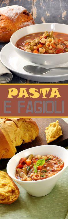 PASTA-E-FAGIOLI RECIPE – Fitness Diet Recipes