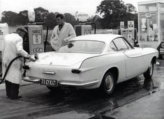 Roger Moore and his Volvo P1800