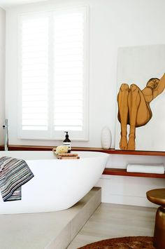 white-bathroom-bath-tub-timber-shelves-july15