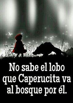 10 Mejores Imagenes De Caperucita Y El Lobo Pretty Quotes Red