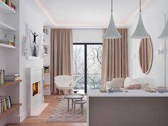 Apartments in Moscow. Designer Arseny Salnikov