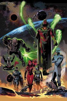 Os Novos & Fabulosos Vingadores.