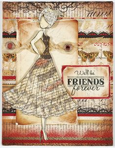 Paper Wishes® Weekly Webisodes, Scrapbooking Videos Featuring PRIMA Doll Stamp