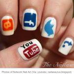and more social media nails :)