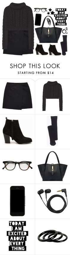 """""""something new :)"""" by emc1397 ❤ liked on Polyvore featuring GANT, TIBI, Nly Shoes, Madewell, Cutler and Gross, Givenchy, Sennheiser and Furla"""