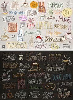 Paneles para Cafetería para la firma Caballo Blanco