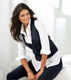 Patrones de chalecos para mujer  2 modelos (tallas grandes) - yo elijo Coser f7ab2184ea276