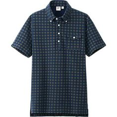 MEN WASHED SHORT SLEEVE POLO SHIRT BY MB