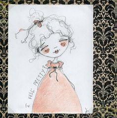 It's been awhile!  New doodle in my shop.  ©dianeduda/dudadaze
