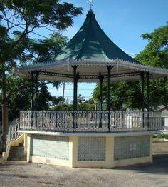 Coreto da SM5O Gazebo, Outdoor Structures, Kiosk, Pavilion, Cabana