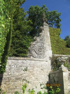 Château de Brécy (14) terrasse des bassins