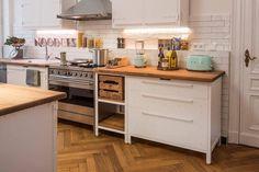 """155 Likes, 1 Comments - SMEG USA (@smegusa) on Instagram: """"Lovely kitchen all adorned with SMEG appliances #smegusa #range #toaster #pastelgreen #archilovers…"""""""