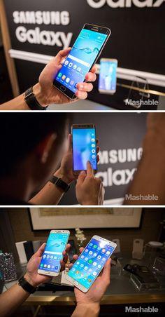 The Samsung Galaxy S6 Edge