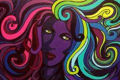 Quattro Neon by NissaAskewArt.deviantart.com on @DeviantArt