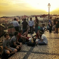 Miradouro de Santa Catarina (Adamastor) in Lisboa, Lisboa
