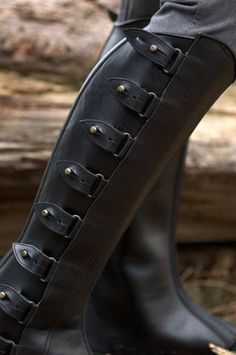 Picture of Half Chaps (Polainas): Black