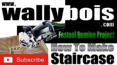 Festool Domino Doweller Project staircase, In this video I explore the possibility of using the Festool Domino Doweller for the construction of a timber Oak staircase? The process was simple and as a project for my own home I used timber that had been rejected for customer work.   For so many the Festool brand is very expensive but the designs are fantastic and worthy of the price although I was reluctant at first to take the plunge into Festool!