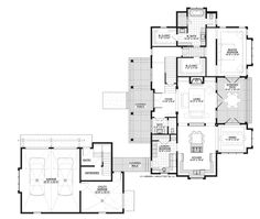 Country Style House Plan - 3 Beds 3.5 Baths 3043 Sq/Ft Plan #928-13 - Dreamhomesource.com