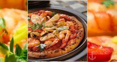 Λαχταριστή πίτσα με ΘΑΛΑΣΣΙΝΑ! - Γλυφάδα Metropolitans Pasta Salad, Hummus, Pizza, Fish, Ethnic Recipes, Crab Pasta Salad, Pisces