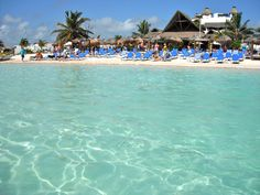 Costa Maya/Majahual is one of my favorite cruise stops. Take the bus from the port to Majahual. You won't regret this!