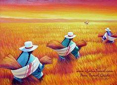 Resultado de imagen para paisajes , callejones pueblo andino