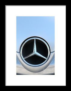 Mercedes - 5d20973 Framed Print by Wingsdomain Art and Photography   transportation transportations car cars automobile automobiles auto autos mercedes benz mercedes benz german car german cars german sportscar german sportscars sportscar sportscars sports car sports cars racecar