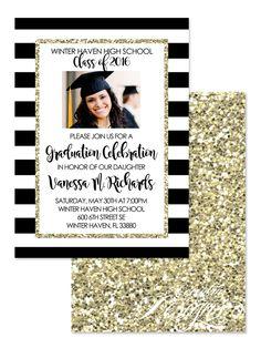 Faux glitter graduation invitation digital invitation senior faux glitter graduation invitation digital invitation senior graduate college university filmwisefo