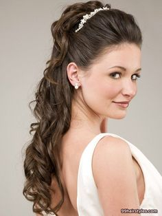 trendy bridles wedding hairstle - 99 Hairstyles Ideas