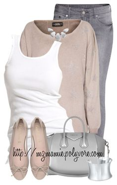 """""""Untitled #2646"""" by mzmamie ❤ liked on Polyvore featuring H&M, Soaked in Luxury, Givenchy, Blue Nile, Simply Silver, women's clothing, women, female, woman and misses"""