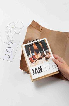 Make a photo calendar.