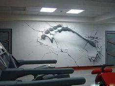 New Graffiti: Illusion Graffiti: Graffiti Art On The Wall