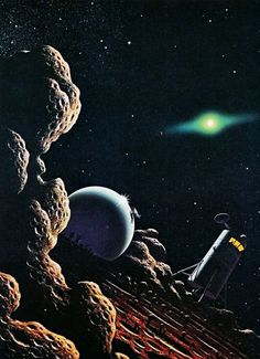 David A. Hardy / The Science Fiction Gallery