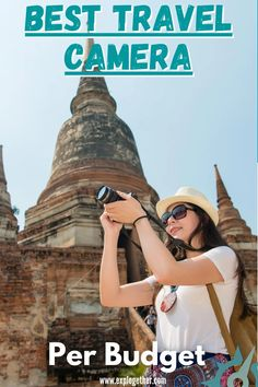 Are you looking for a new travel camera? Then this article will explain to you what are the best travel cameras per budget. A travel camera is something that should be for video and photography, that's why we are sharing with you the best travel cameras. Some of these travel cameras are cheap, others are a bit more expensive, but each one of them will be great to have in your travel gear. #travelcamera | #cheaptravelcamera | #travelcameragear Best Cameras For Travel, Travel Photos, Photography For Beginners, Photography Tips, Dslr Or Mirrorless, Cheap Cameras, Perfect Camera, Point And Shoot Camera, New Travel
