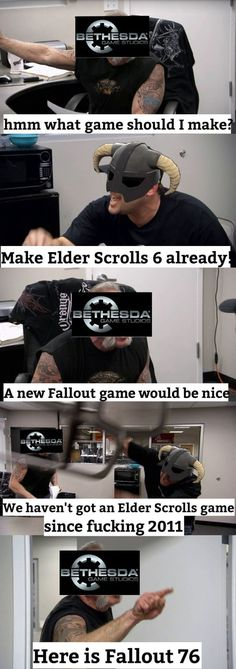 Elder Scrolls fans at the moment.