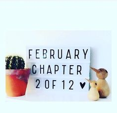Great idea for the beginning of each month