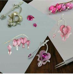 Drawing jewelery