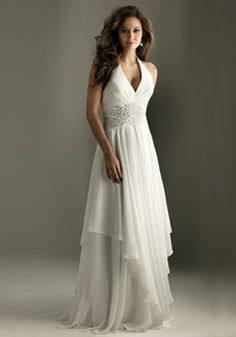 a-line empire strapless appliques brush train prom dress - Lookdressu.com