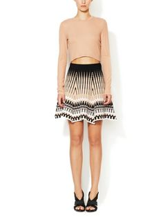 Anabella Flare Skirt by Torn by Ronny Kobo on sale now on Gilt.