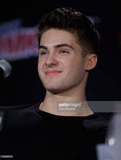 Cody Christian from Teen Wolf speaks during day 2 of New York Comic-Con 2015 at The Jacob K. Javits Convention Center on October 9, 2015 in New York City.