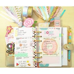 Fun Stampers Journey accessories for planners...  www.funstampersjourney.com/charleasor
