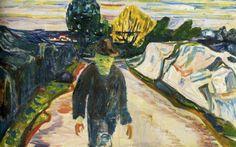 aizobnomragym:  Edvard MunchThe Murderer