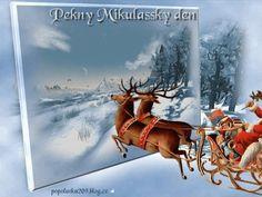 Mikuláš-prianie Good Morning, Horses, Movie Posters, Animals, Gifs, Art, Christmas, Bom Dia, Animales