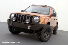 Awesome Jeep Patriot Steel Bumper