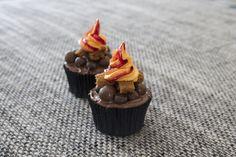 Kampvuur cupcakes