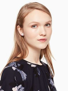 Kate Spade Flying Colors Rock Candy Studs, Clear