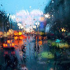 Rainy night in the city....where my heart soars