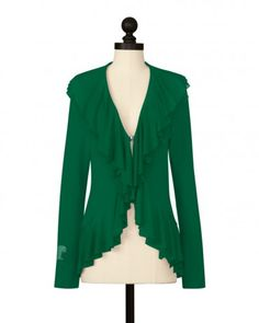 Double Layer Cardigan - Tulane University  I'd wear this to a football game..........
