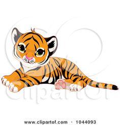 Cute Tiger Clip Art | Preview Clipart