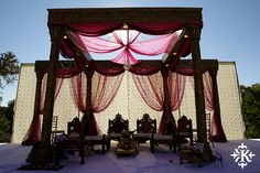 Outdoor wedding in Austin, TX   Decor by Prashe