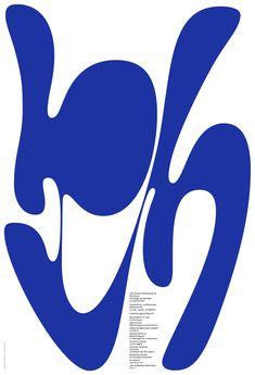 Designers: André Baldinger and Toan Vu-Huu Paris Client: Le Portique Typography Poster, Graphic Design Typography, Graphic Design Art, Graphic Design Inspiration, Graphic Posters, Exhibition Poster, Communication Design, Design Graphique, Graphic Design Studios
